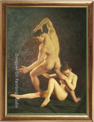 ART ORIGINAL OIL ON PAINTING LOVE SERIES-NO RESERVE