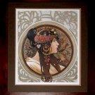Art Painted Oil Painting Repro Alphonse Mucha- Zodiac