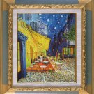 ART OIL PAINTING repro of  VAN GOGH -Cafe at Night