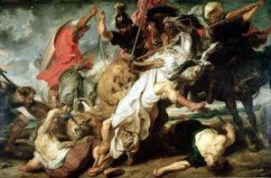 Custom Painting-old master-PeterPaul Rubens-Lion Hunt