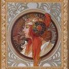 Art Painted Oil Painting Repro Alphonse Mucha-Zodiac