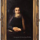 Repro Oil Painting John Amos Comenius by Rembrandt 36""