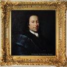 Oil Painting Portrait of Nikolaus Graf von Zinzendorf