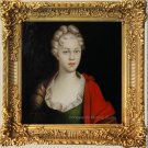 Oil Painting Portrait Edmuthe Dorothea Von Zinzendorf