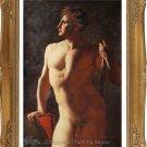Jean Auguste Dominique Ingres's oil painting Male Torso