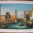 Wholesale lots 6 oil paintings-Landscape-Canaletto Rome