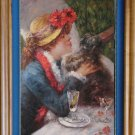 Impressionist OIL PAINTING ON CANVAS Renoir Figures