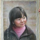 ORIGINAL OIL PAINTING ORIENTAL PRETTY GOOD GIRL ON SALE
