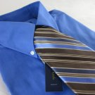 NEW CLUB ROOM DRESS SHIRT + SILK TIE Blue Medium 15 32 $90 Value