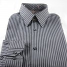 NEW BEN SHERMAN DRESS SHIRT XL 17 34/35 $80 Gray NWT
