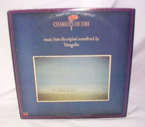 Chariots Of Fire Soundtrack Vangelis LP Record 33� Great Condition 1981 VINTAGE