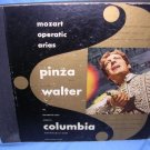 Mozart Operatic Arias 78 rpm 1946 Metropolitan Opera 4 Set Ezio Pinza/Bruce Walter Columbia Record