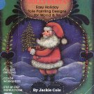 Primitive Folk Art Jolly Santa Easy Holiday Tole Painting Designs Wood/Tin Full-Size Pattern/Color