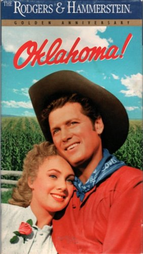 Oklahoma VHS,1991 Gordon MacRae, Shirley Jones - Rodgers and Hammerstein Frontier Life
