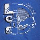 Detroit Lions Blue Sweatshirt Hoody/Hoodie/Hooded Child NFL Football VTG NEW FREE S&H in USA