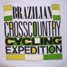 Brazilian Crosscountry Cycling Expedition Cross Country Sweatshirt Brazil Men M VTG NEW FREE S&H USA