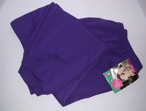 Hanes Her Way Sweatpants Purple Women 4X Full Figure 30W/44-32W/46 Cotton Blend Big Woman NEW NWT