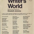 The Writer's World~Janeway PB'69 series of panel discussions-Authors Guild-New School New York City