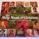 The Many Moods Of Christmas~Goodyear'73 LP 33⅓-Streisand/Sinatra/Williams/Crosby/Boone/Benet/Davis