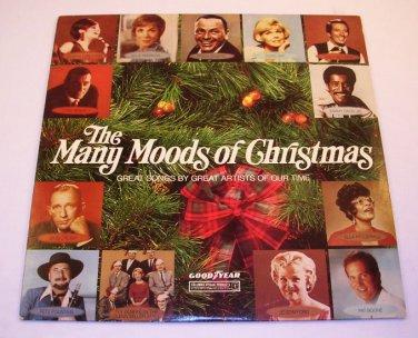 The Many Moods Of Christmas~Goodyear'73 LP 33�-Streisand/Sinatra/Williams/Crosby/Boone/Benet/Davis