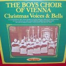 The Boys Choir of Vienna-Carillon Christmas Voices & Bells 1980 vinyl LP Record 33⅓ VINTAGE