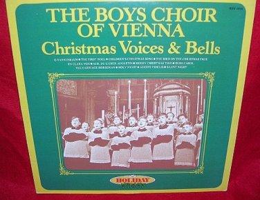 The Boys Choir of Vienna-Carillon Christmas Voices & Bells 1980 vinyl LP Record 33� VINTAGE
