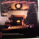 Contemporary Christmas Classics-Amy Grant~Evie~Pat Boone~Chapman~Meece LP33⅓ EUC