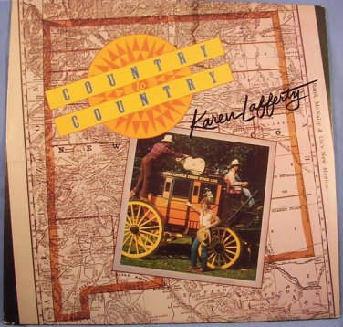 Karen Lafferty Country to Country gospel Christian music record 1983 LP 33� EUC The Kingdom Song