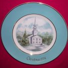 Avon Christmas Plate 1974-Country Church-9 inch Vintage Excellent Condition
