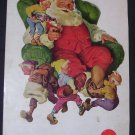 Coca Cola Christmas 1960 Santa Claus/Elves National Geographic advertisement Vintage Coke