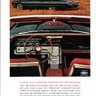 Thunderbird 300-hp/V8~Paper Mate Pens Ford T-Bird 1963 National Geographic advertisement Vintage