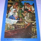 Baby Jesus Luke 2 Tray Puzzle Clive Uptton Warner Press T1789 Christmas Story Good Condition
