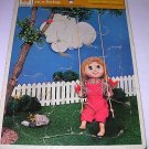 5 Tray Puzzles Farm/Country Scenes-Lamb Calf Duck Katie on the Swing - Whitman/Golden/Rainbow