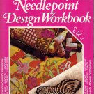Do It Yourself Needlepoint Design Workbook V.2-Trace Designs Directly On Canvas'72 Crewel,Embroidery