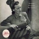 Lees Columbia Yarns Novelties/Accessories/Bed Jackets Volume 106 Paperback/Magazine 1945 VINTAGE