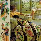 Bernat Afghans Book No. 132 Contemporary And Traditional Styles PB/1966 VINTAGE crafts