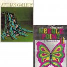 (2) Columbia Minerva: Afghan Gallery Book 764/Beginner's Needle Point Book 207 Craft Books