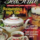 Southern Lady TEA TIME MAGAZINE-Winter 2006 Tearooms, Food, China, Table Settings UPC 071486028765