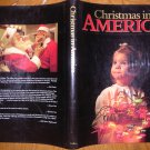Christmas In America-Large Coffee Table Hardcover Picture Book 1988 David Cohen