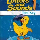 A Beka/Abeka Letters And Sounds 1 Teacher Test Key - 1st Grade PB/2013