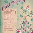 The Christmas Story Sheet Music 1939 Carol Medley By John Courtland And Clayton Sunny Vintage