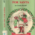 Twelve Bells For Santa By Crosby N. Bonsall HB/1977 An I Can Read Book Vintage