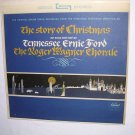 The Story Of Christmas Tennessee Ernie Ford And Roger Wagner Choral 1964 LP 33⅓ VTG