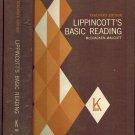 Lippincott's Basic Reading-Book K Teacher's Edition Hardabck 1971 by McCracken/Walcutt