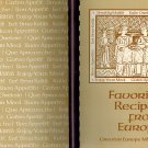 Favorite Recipes From Europe: Greater Europe Mission Comb Bound 1975 Cookbook GEM
