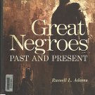 Great Negroes Past And Present 3rd Ed 1984 Russell L. Adams 175 historically organized biographies