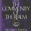 The Community Of The Realm, Borzoi History Of England Volume II 1154-1485~Michael R Powicke PB/1973