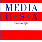 Media USA Process And Effect - Longman Series In Public Communication By Arthur Asa Berger PB/1988