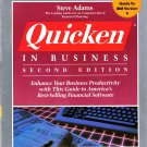 Quicken In Business Second Edition IBM Version 4 Official Guide~Steve Adams 1991 Financial Planning
