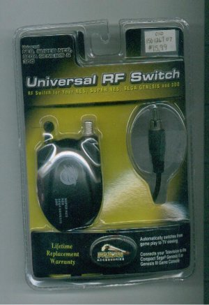 Universal RF Switch  NES Super NES  Sega Genesis and 3 DO